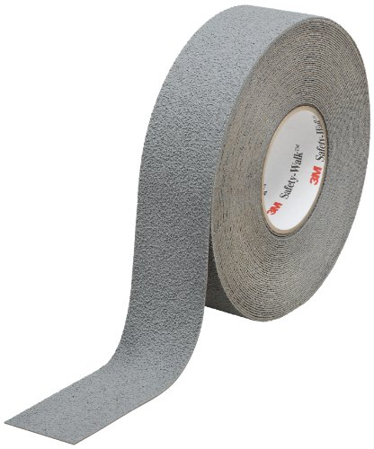 (3M Safety-Walk Slip-Resistant Medium Resilient Tapes and Treads 370, Gray, 2