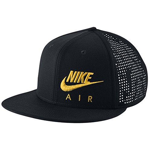 d Snapback Cap One Size Black Yellow ()