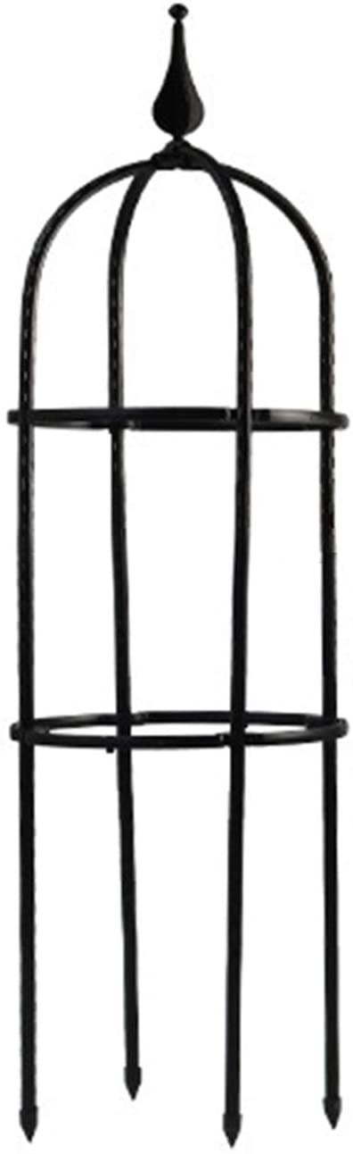 FGYZYP Tower Obelisk Garden Trellis, Durable Metal U-Shaped Plant Flower Support Stand for Climbing Vines and Plants Party Outdoor Floral Decor Supporting Morning Glory Ivy Roses Cucumbers Clematis