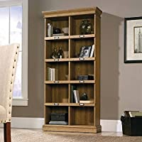 Sauder Barrister Lane Tall Bookcase (Scribed Oak)