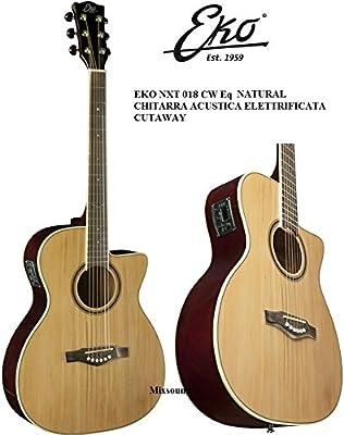 EKO NXT Nailon CW EQ Nat Varini Next Guitarra Clásica ...