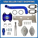 COMPLETE EGR DELETE KIT 2010-2016 DODGE RAM 2500 3500 4500 for L6 6.7L CUMMINS DIESEL