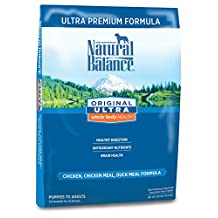 Natural Balance Dry Dog Food, Ultra Premium Formula, 30-Pound Bag