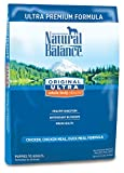 Natural Balance Original Ultra Whole Body Health Chicken, Chicken Meal, Duck Meal Formula Dry Dog Food, 30-Pound