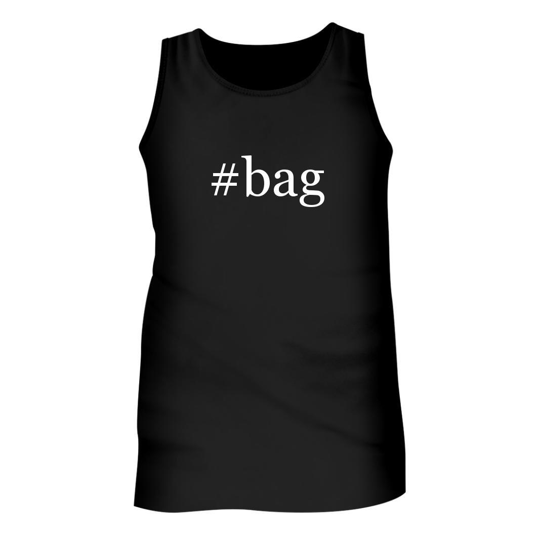 #Bag - Men's Hashtag Adult Tank Top, Black, Small