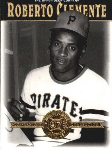 2001 Upper Deck Hall of Famers Baseball Card #28 Roberto Clemente Near Mint/Mint