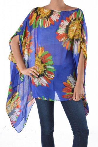 Womens Junior Fashion Sunflower Caftan product image