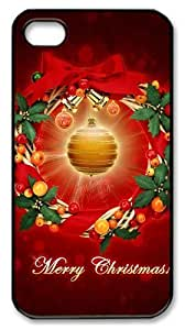 iphone 4 buy cases May your christmas be merry and bright PC Black for Apple iPhone 4/4S