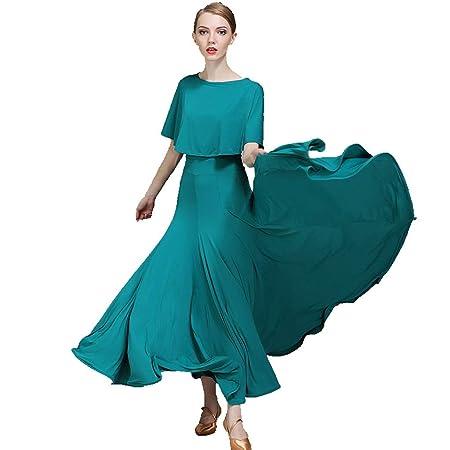 DRESSS Vestido de Baile Moderno, Traje de Competencia de ...