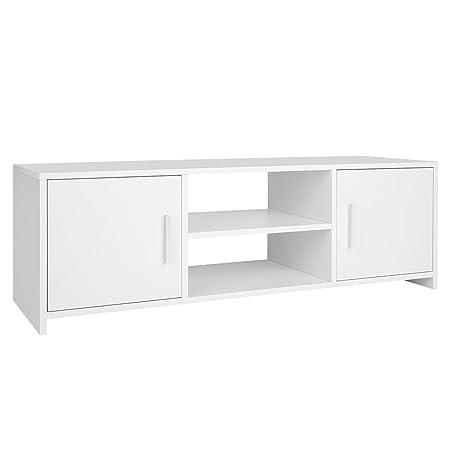 Homfa Fernsehtisch Tv Lowboard Tisch Tv Mobel Tv Schrank Tv Board