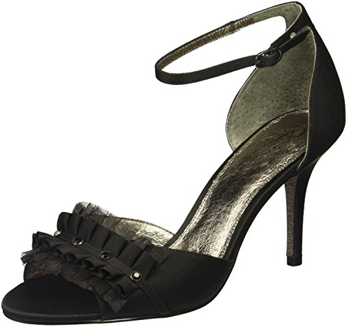Adrianna Papell Women's Alcott Pump, Black Satin, 7 M US