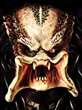 MOVIE FILM THE PREDATOR ILLUSTRATION ALIEN MONSTER SCI FI 18X24'' POSTER ART PRINT LV10200