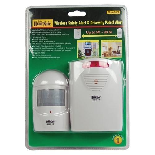HomeSafeWireless Safety Alert & Driveway Patrol Alarm by Home Safe