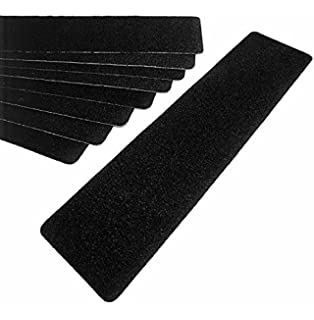 Charmant Black Stair Safety Tape   Non Slip Treads, Package Of 10, ...