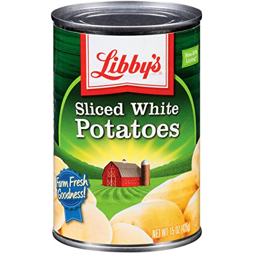 Libby's Sliced, White Potatoes Cans, 15 Ounce (Pack of 12)