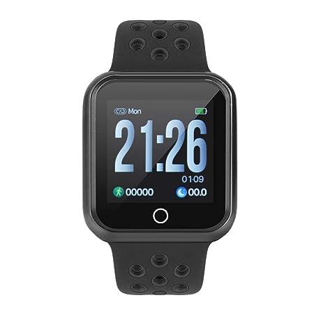 Zerone Fitness Tracker podómetro Smartwatch Tensiómetro Pulsómetro ...