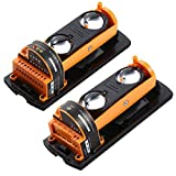 ALEAN Wired Photoelectric Dual 2 Beams Detector Active Infrared Outdoor Distance 100m/328ft