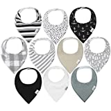 Baby Bandana Drool Bibs for Drooling and...