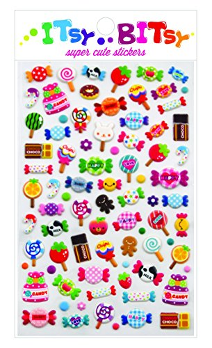 Candy Stickers (Candy Time Stickers by Itsy Bitsy)