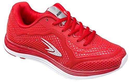 Zapatillas de textil mujer Rojo sintético rojo para gibra dq4pwd
