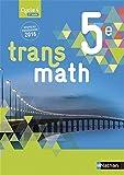 Transmath 5e - Format compact - Nouveau programme 2016