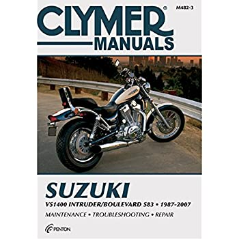 amazon com clymer repair manual for suzuki vs700 vs750 vs800 85 07 rh amazon com 93 Intruder 800 Intruder 800 in Myrtle Beach