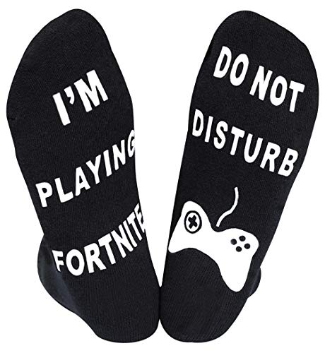 Do Not Disturb I'm Playing Fortnite Socks