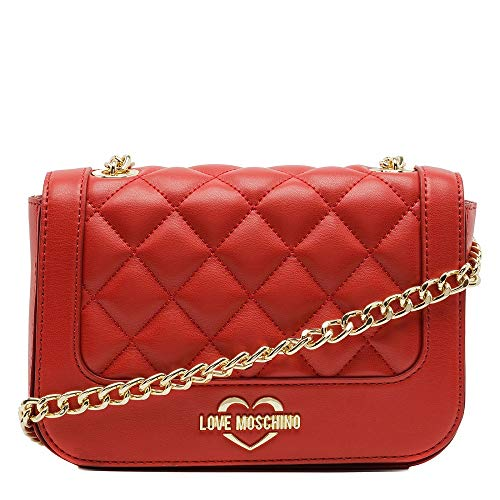 Love Moschino BORSA QUILTED NAPPA PU ROSSO JC4208PP06KA0500