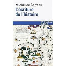 ÉCRITURE DE L'HISTOIRE