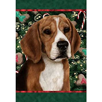 Beagle   Best Of Breed Holiday Treats Christmas Garden Flag
