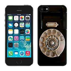 MEIMEIRetro Telephone ipod touch 4 Case Black CoverLINMM58281