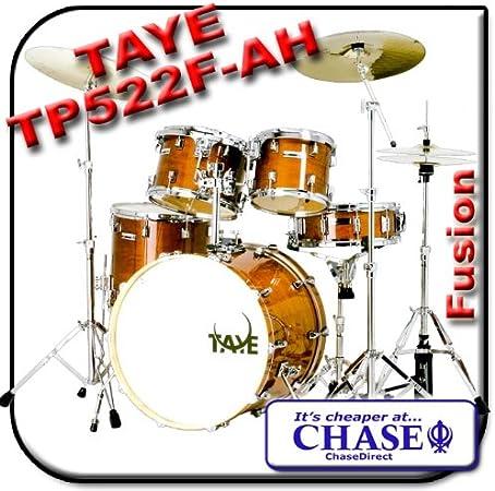 Taye Tour Pro Fusion 5 piezas Kit de tambor envejecido miel 22