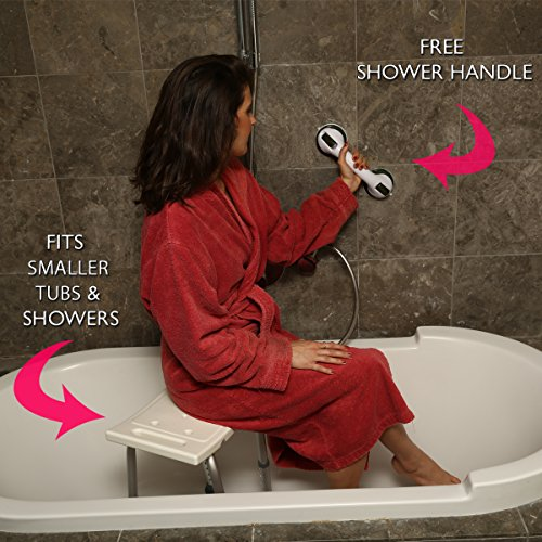 Amazon.com: Dr. Maya Adjustable Bath and Shower Chair with Free ...