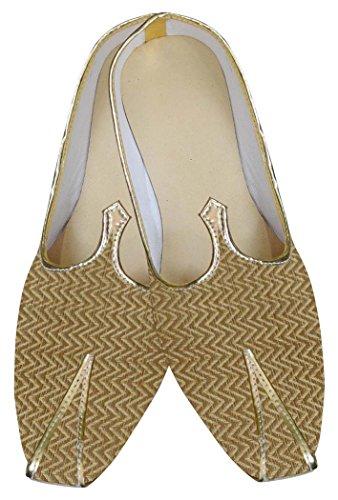 INMONARCH Herren Goldene Hochzeit Super Schuhe MJ0042