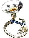 Shreyas Sousaphone 25 Valve Big Tuba Made Of/Full Brass W/Bag Brass Finish Tubas Silver