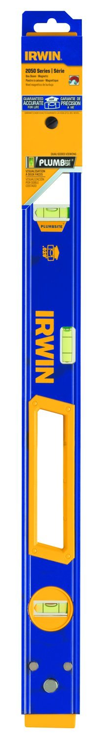 IRWIN Tools 2050 Magnetic Box Beam Level. 24-Inch (1794076)