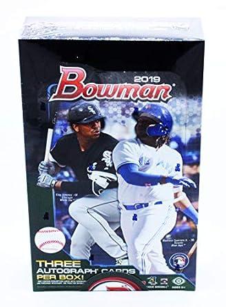Amazoncom 2019 Bowman Baseball Jumbo Box 12 Packs32 Cards 3
