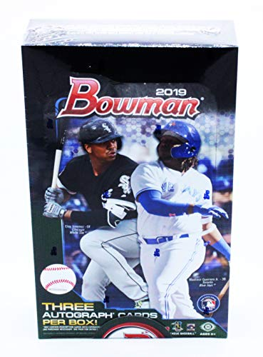 Amazoncom 2019 Bowman Baseball Jumbo Box 12 Packs32