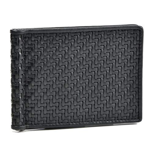 Zegna(ゼニア) 財布 メンズ PELLE TESSUTA 2つ折り財布 NERO E1245P-PTA-NER [並行輸入品] B07G3VSSBW