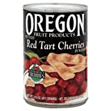 Oregon Fruit Pie Cherries Red Tart, 14.5-Ounce (Pack of 4)