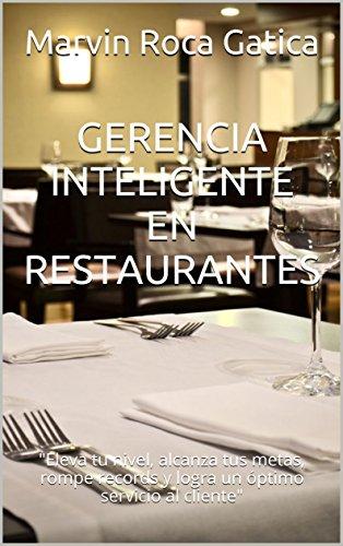 GERENCIA INTELIGENTE EN  RESTAURANTES: