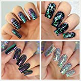 Clear Full Cover Nails - Fake Nails Square Shaped