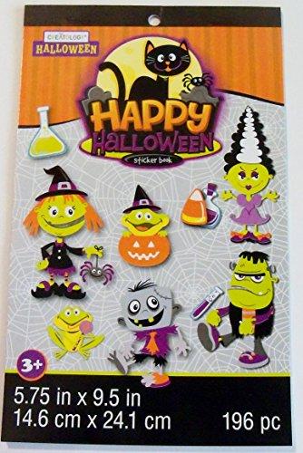 [Creatology Sticker Book ~ Halloween Edition (Happy Halloween; 196 Stickers)] (Girls Festive Witch Costumes)