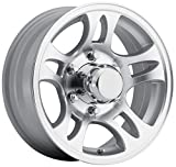 Sendel T03 Silver Wheel with Machined Finish (156''/65.5inches 0mm Offset)