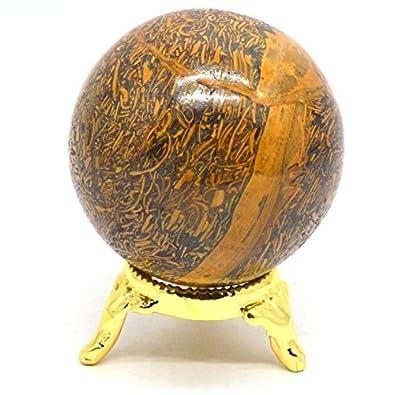 Buy Natural Gemstone Sphere Ball Natural Maryam Stone Metaphysical