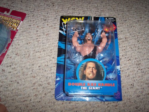 Giant (Double Axe Handle) from Wrestling - WCW (San Francisco) Action Figure - Giant Axe Toy