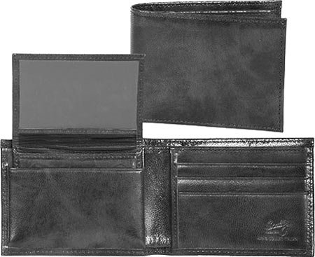 Black Removable Unisex W 0 2005R Billfold Leather Case Slim Scully pwR1zEqx0n