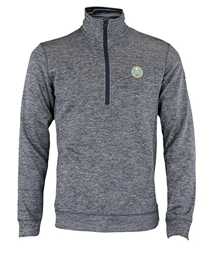adidas NBA Men's Quarter Zip Tech Fleece Climawarm Jacket, Denver Nuggets
