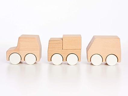 3f5454960fa Amazon.com  Tinkerton New Vehicles - Wood Car