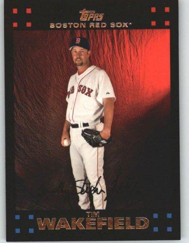 2007 Topps #116 Tim Wakefield - Boston Red Sox (Baseball Cards)
